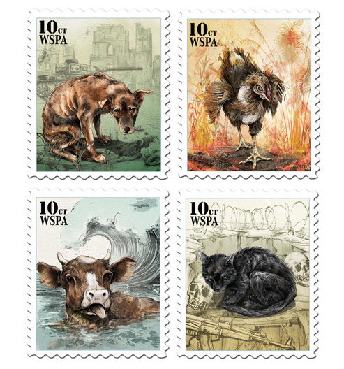 Animal All Stamps